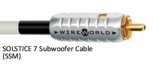 WIREWORLD Solstice 8 Subwoofer Cable