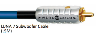 WIREWORLD Luna 8 Subwoofer Cable